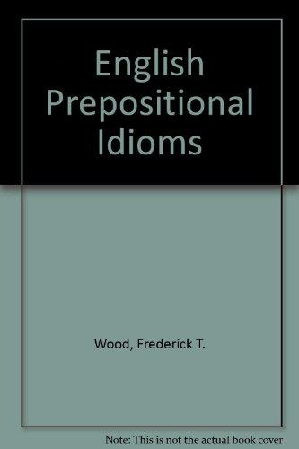 English Prepositional Idioms Elbs
