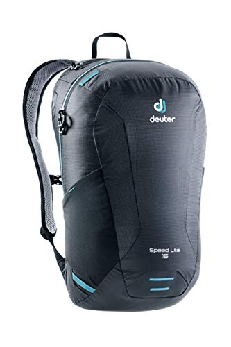 deuter Rucksack Speed Lite 16, Black, 45 x 25 x 16 cm, 16 L, 3410118-7000