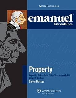 Elo: Property Dukeminier Krier Alexander & Schill 7e (Emanuel Law Outlines)