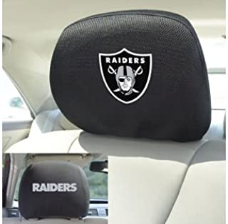 FANMATS 12510 Head Rest Cover NFL (Oakland Raiders)