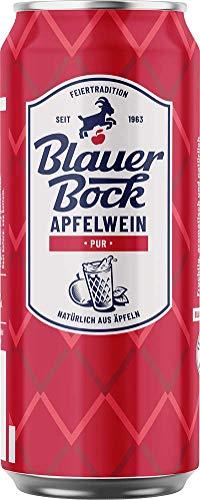 Blauer Bock Apfelwein Pur 24x 0,5 Liter