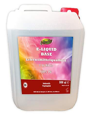 LAGUNA 100% Propylenglykol E Liquid Base 5L PG pur