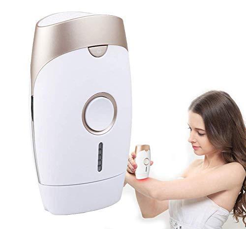 IPL-System zur dauerhaften Haarentfernung, tragbares Epiliergerät für schmerzlose Laserbehandlungen, Schönheitsgerät für Gesicht, Bikini und Achsel für Frauen und Männer