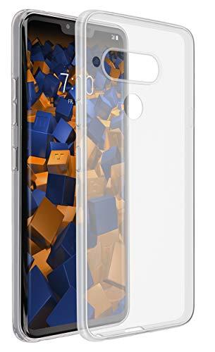 mumbi Hülle kompatibel mit LG V40 ThinQ Handy Hülle Handyhülle dünn, transparent