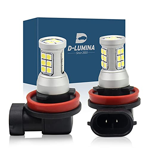 Lámpara Led H8 / H11 / H9, 12V 24V 8W, Impermeable IP67, Iluminación 360 °, Para Autos y Camiones