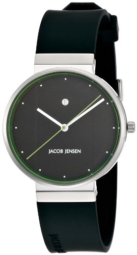 [ヤコブ・イェンセン] 腕時計 757 正規輸入品 ブラック