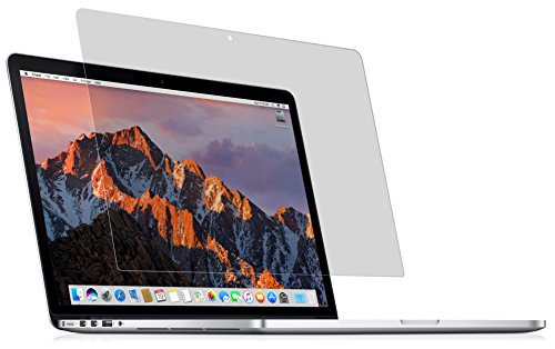 MyGadget Protector Lámina Mate Apple MacBook Pro Retina 15' [de 2013 Mitad 2016] - Película de Pantalla Antireflejo HD y Screen Antihuellas