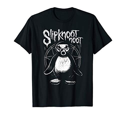 Slipknoot noot Pinguin Heavy-Metal Gothic Hard Rock Geschenk T-Shirt