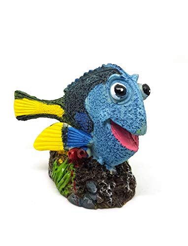 takestop® Decoratiefiguur zeemeermin, kleurrijk, aquarium, decoratie voor tuin en huis
