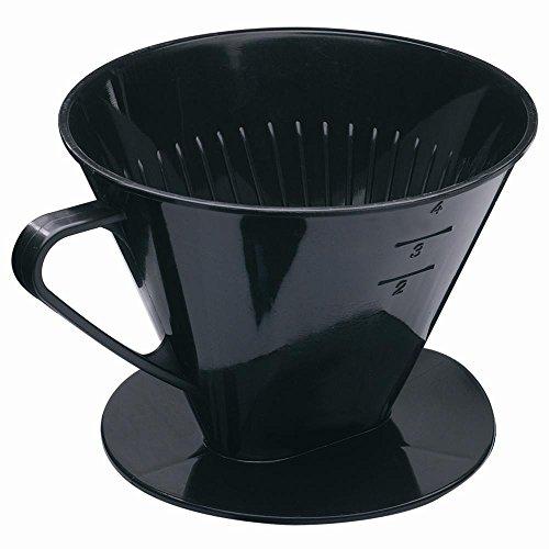 Westmark 244-42261 Kaffeefilter Four, schwarz (1 Stück)