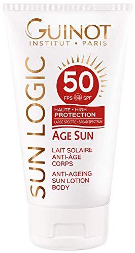 Guinot Age Sun Lait Solaire Anti Age Corps Lsf 50 Sonnencreme, 1er Pack (1 x 150 ml)