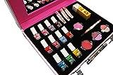 MISS NELLA - Maleta de color rosa completa – Peel Off, esmalte de uñas no tóxico, juguete de...