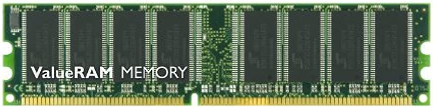 Kingston - Memoria RAM DDR 512 MB PC400 (VALUERAM 64MX8, 8Chip, CL3 (3-3-3), 400 MHz, 184-pin, sin búfer, DIMM)