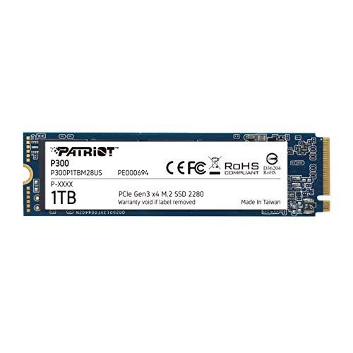 Patriot P300 M.2 PCIe Gen 3 x4 1TB Low Power Consumption SSD