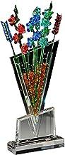 Crystal Asfour 185/1151 Crystal Flower Vase - Multicolor