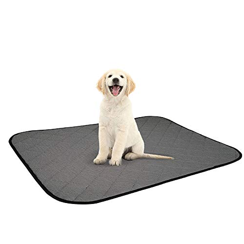 MN1 Pee Pads Machine Washable, Reusable Pee Pad, Fast Absorbing Dog Whelping Pad/Waterproof Puppy Training Pad/Housebreaking Absorption Pads,S