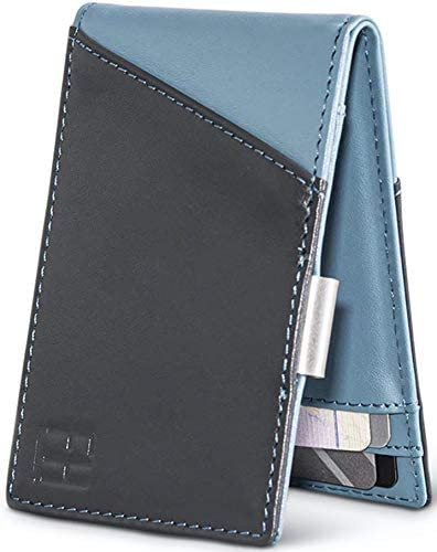 FH Signature Slim New products world's highest quality popular Max 44% OFF RFID Money Clip Grain Leather in Wallet Top