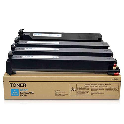 Compatible Reemplazo Cartuchos De Tóner para Konica Minolta TN611 Cartucho De Tóner para Konica Minolta Bizhub C451 550 650 Toner,4 Colors
