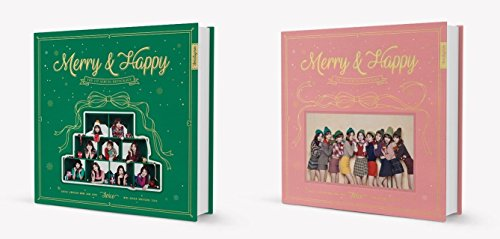 TWICE - Merry & Happy [Merry + Happy ver. SET] 2 CD+Photobook+Photocard+Sticker+Free GIft