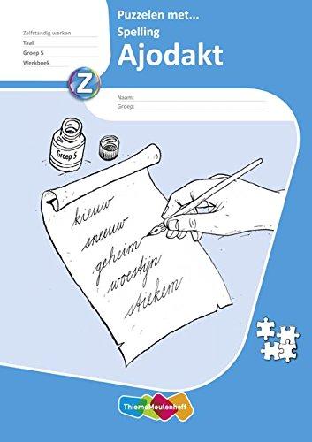 Ajodakt Taal Puzzelen met spelling groep 5 (5x)