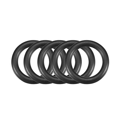 sourcingmap 50 Pcs Flexible Nitrile Rubber O Rings Washers Seal 14mm x 20mm x 3mm