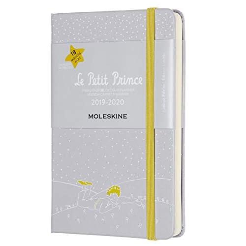 Moleskine Agenda Settimanale 18 Mesi Le Petit Prince in Edizione Limitata, Terra anno 2019/2020 con Copertina Rigida e Chiusura ad Elastico, Dimensione Pocket 9.5 x 14.5, 208 Pagine