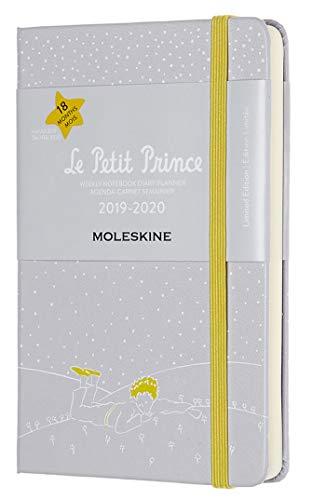 Moleskine Agenda Settimanale 18 Mesi Le Petit Prince in Edizione Limitata, Terra, Diario Accademico 2019/2020 con Copertina Rigida e Chiusura ad Elastico, Dimensione Pocket 9.5 x 14.5, 208 Pagine