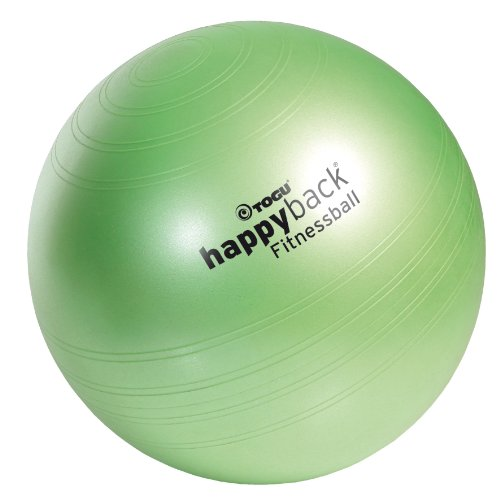 Togu happyback® Fitnessball Größe L (65 cm) inkl. Pumpe - Made in Germany