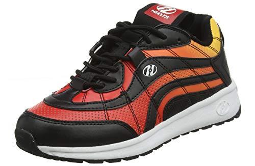 Heelys Herren Nitro Sneaker, Schwarz (Black/Flame Black/Flame), 38 EU