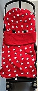 Buggy surf Pop Duo/ Snuggle saco//Cosy Toes Compatible con plata cruz crucifijo /estrella roja