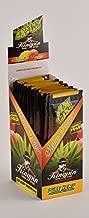 100 Wraps Display of Natural KingPin Hemp Wraps Mango Tango Flavor + XL Beamer Doob Tube Pure Hemp Non Tobacco (25 Packs of 4) + Beamer Smoke Sticker