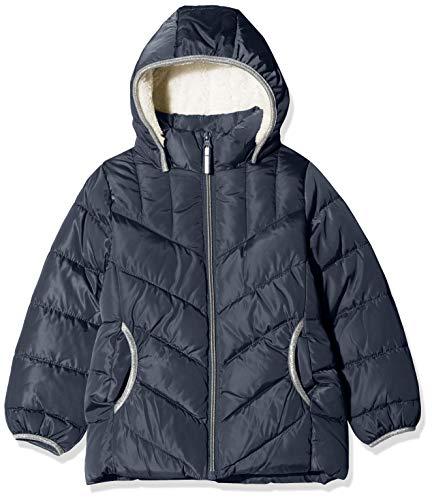 NAME IT Mädchen NKFMUS Puffer Jacket Camp Jacke, Blau (Dark Sapphire Dark Sapphire), (Herstellergröße: 158)