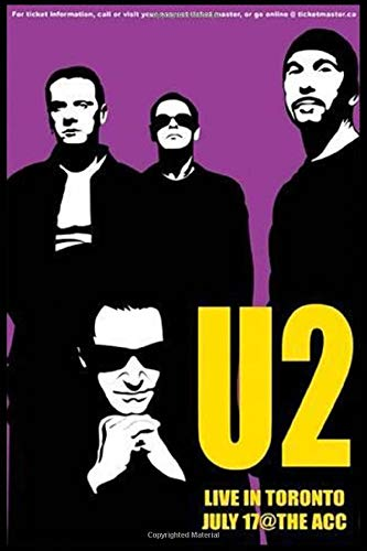 U2 Notes Lined Journal.