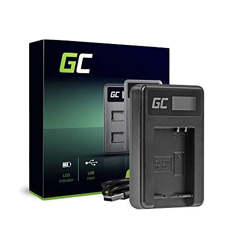 Green Cell® CB-2LCE Ladegerät für Canon NB-10L Akku und PowerShot G1 G3 G10 G15 G16 G1X G3X SX40HS SX40HS SX50HS SX60HS Kameras (5W 8.4V 0.6A Schwarz)