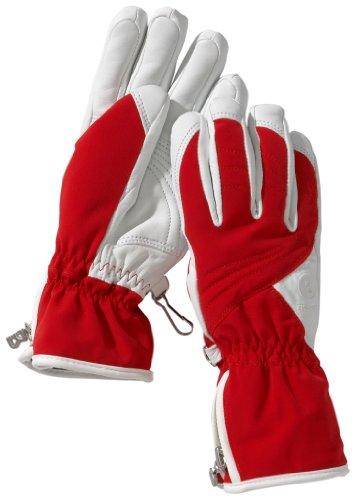 Bogner Fire & Ice Damen Handschuhe Carla, red, 7.5, 4296103