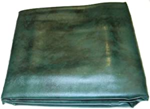 Iszy Billiards 9 Foot Heavy Duty Fitted Leatherette Pool Table Billiard Cover Green