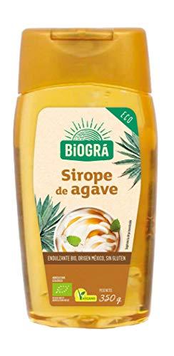 Biográ Endulzante Natural Sirope de Ágave Envase Antigoteo, 350g