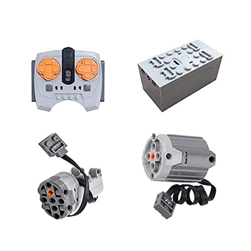 BANDRA Technic Power Functions Set Moteur Set et télécommande Compatible avec Lego