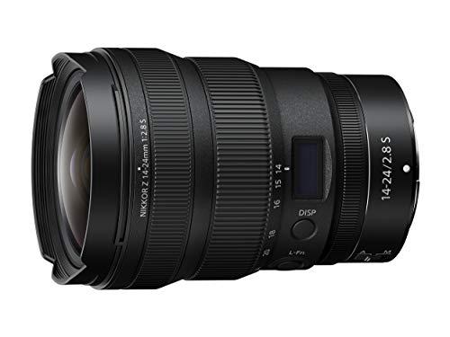 Nikon NIKKOR Z 14-24mm f 2.8 S, Obiettivo zoom ultragrandangolare professionale, pieno formato, ultracompatto, leggero, trattamento Arneo, idoneo per filmati, nero [Nital Card: 4 Anni di Garanzia]