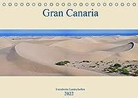 Gran Canaria - Extrabreite Landschaften (Tischkalender 2022 DIN A5 quer): Landschaftspanoramen der Insel Gran Canaria (Monatskalender, 14 Seiten )