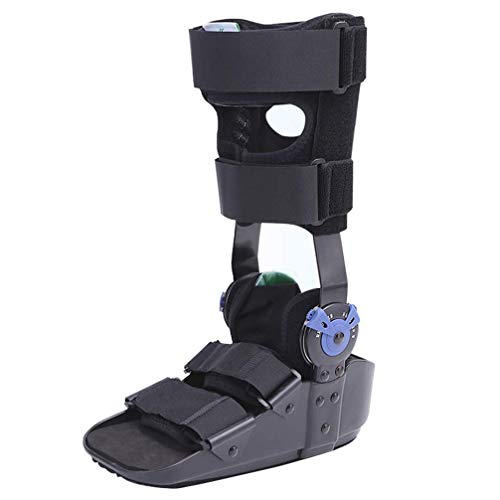 Ankle Braces,Breathable Orthosis Walker Boot - Ideal For Stable Foot and Ankle Fracture, Achilles Tendon Surgery, Ankle Sprains Orthotic Shoes, Black,M