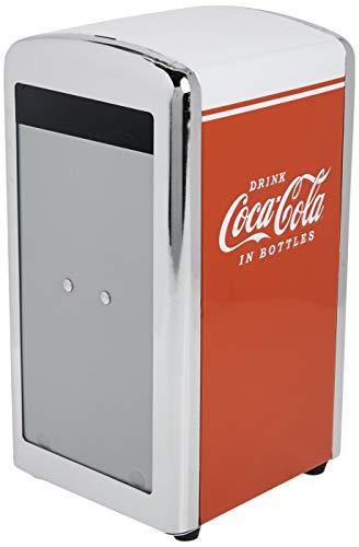 TableCraft Porta-guardanapos Coca-Cola CC342, vermelho, pequeno