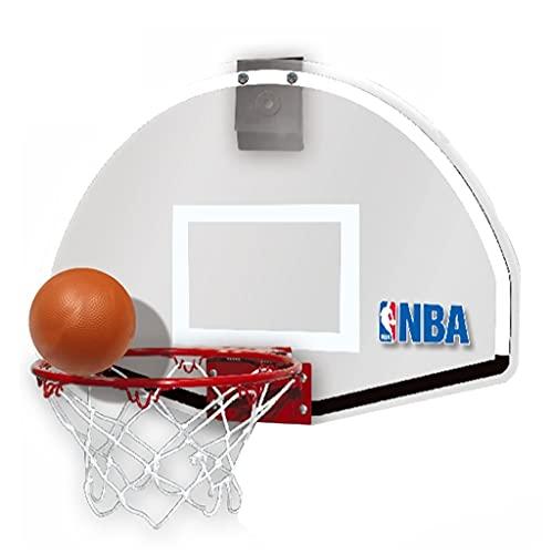 Baloncesto Soporte Elevable Soporte Portátil Gratuito para Colgar En El Hogar Mini Tabla Niños Caja De Tiro Colgante para Interiores Resistencia Al Impacto