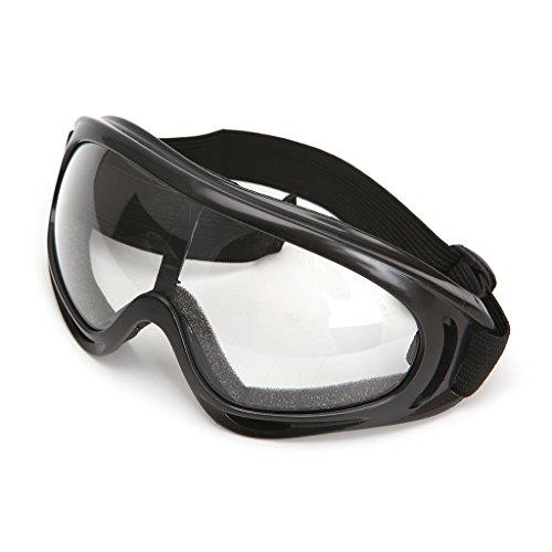 Yintiod Outdoor veiligheidsbril bril windscherm zanddicht oogbescherming skibril Eén maat transparant