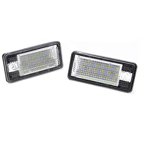 LED Kennzeichenbeleuchtung Kennzeichenleuchte A3 8P A4 8E A6 4F A8 Q7