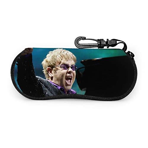 Pretty Socks Elton John - Funda para gafas de sol con cremallera