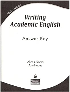 Writing Academic English: Answer Key