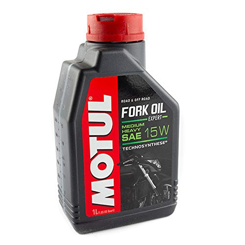 Motul 101138 Fork Oil Expert, Medium/Heavy, 1 L