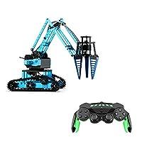 RCロボットカー, Extaum K4 RCロボットアーム車アルミ合金リモートコントロールロボット2.4Ghzホイール付きDIY子供用おもちゃ
