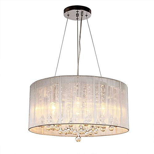 WNN-T Moderna de cristal gota de agua iluminación de la lámpara LED de montaje a ras de techo de la lámpara pendiente del accesorio ligero de Comedor Baño Dormitorio Sala 4 Bombillas LED E12 WNN-T